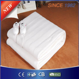 Low Electromagnetic Radiation Polyester Electric Bed Warmer with Timer pictures & photos