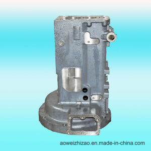 Customized Ductile Iron Casting Gearbox by Sheel Casting, ISO 9001: 2008, Awkt-0001