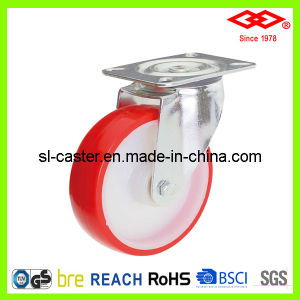 200mm Swivel Plate PU Industrial Castor (P102-26D200X50) pictures & photos