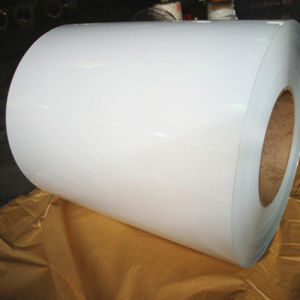 China Cheap White Pre Painted Galvalume Steel Coil