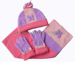 Polar Fleece Set for Kids (ZSKST-0055)