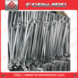 OEM Iron Pipe or Plate Fabrication Fence Legs Bracket pictures & photos
