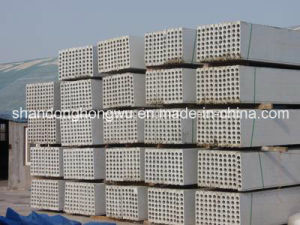 Building Material/Gypsum Lightweight Hollow Core Wall Panel