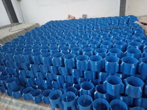 "API Standard 7"" Steel Straight Vane Solid Body Centralizer pictures & photos"