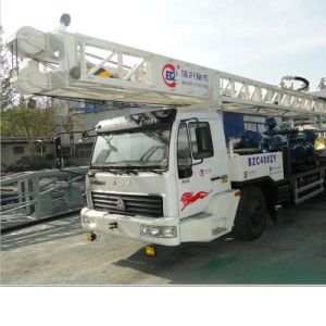 User-Friendly Truck Mounted with Water Well Drilling Rig