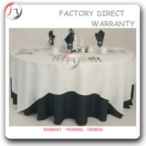 China Hotel Restaurant Standard Black Round Vinyl Tablecloths Tc 23