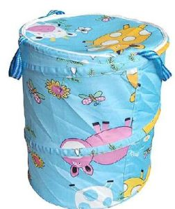 Laundry Bag with Cover and Handle