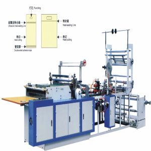 Multifunctional Computer Controlled Heat-Cutting Plastic Bag Making Machine (WQL700-800B) pictures & photos