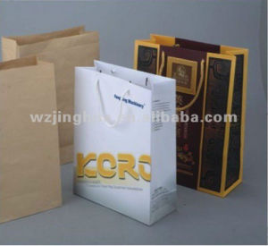 Full Automatic Paper Bag Making Machine (FM-35) pictures & photos