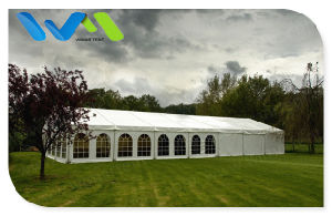 100 Seater Decorate Outdoor White Wedding Tent for Sale