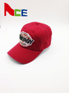 19a4564fc33 Stone Washed Worn-out Cotton Applique Baseball Hat with 3D Embroidery
