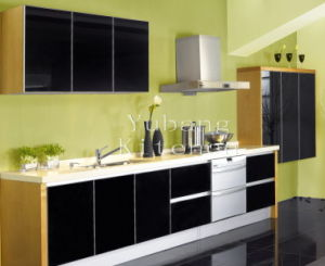 Baked Paint Kitchen Cabinet (M-L80) pictures & photos
