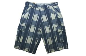 Men′s Plaid Beach Shorts with High Qualty