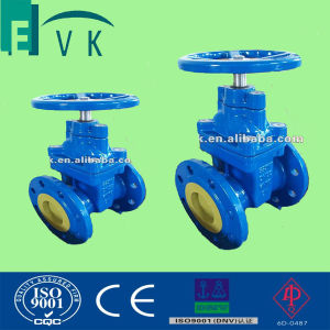 DIN3352 F4 Cast Iron Non-Rising Stem Gate Valve with Ggg50