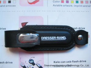 Leather USB Flash Drives USB Disk for Business Gift pictures & photos