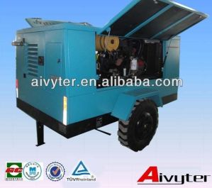 350 Cfm Portable Air Compressor for Concrete Drilling