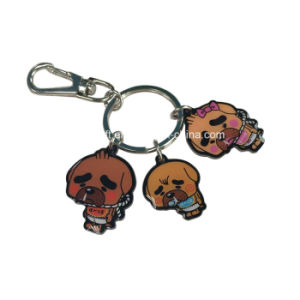 Wholesale Promotional Cute Cartoon Animal Keychain
