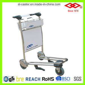 Stainless Steel Airport Trolley Handcart (GZ-250) pictures & photos