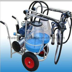 Transparent Bucket Milking Machine pictures & photos