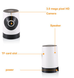 Wireless WiFi 3.0 MP Fisheye Panoramic IP Camera for Home Security Support Smartphone & TF Card Recording pictures & photos