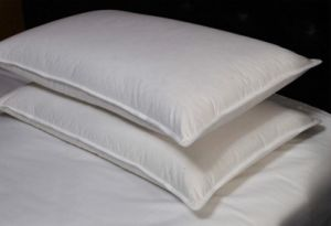 White Polyester Fabric Shell Home Pillow