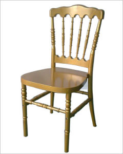 Gold Resin Napoleon Chair For Banquet