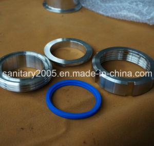 Stainless Steel Polished Pipe Union Rings for Connection