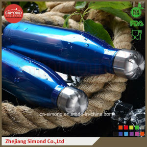 500ml 18/8 Stainless Steel Cola Water Bottle (SD-8007) pictures & photos