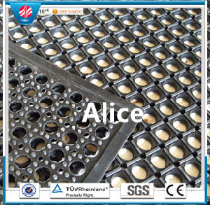 Anti-Fatigue Mat/Anti-Slip Kitchen Mats/Drainage Rubber Mat