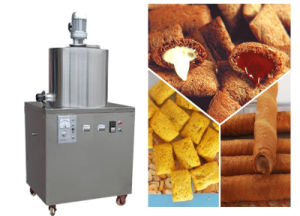 Hot Sale Automatic Extruding Crispy Snacks Food Making Lines, Core Filling Snack Food Machine pictures & photos