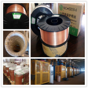 Manufacturer Supply Carbon Steel Er70s-6 Welding Wire pictures & photos