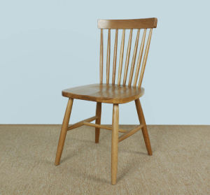 Solid Oak Wood Dining Chair High Quality Dining Chair (M-X1058) pictures & photos