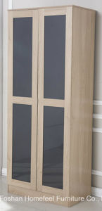 New Design High Gloss Bedroom Wardrobe Trio Set pictures & photos