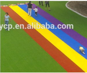 High Quality Anti-UV Leisure Artificial Grass for Playgroud