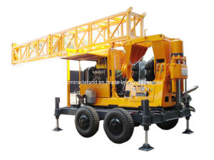 Wheel Mounted Mobile Water Well Drilling Rig (XY-5T) pictures & photos