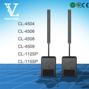 Cl-115sp Line Source Column PA Waterproof Active Subwoofer Speaker