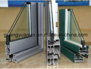 Powder Coated Aluminium Tube/Pipes for Window and Door pictures & photos