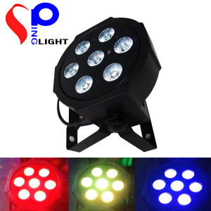 Hot Selling 7PCS10W LED PAR Lights 4 in 1