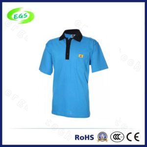 Blend of Cotton and Polyester ESD Polo Tshirt From Factory pictures & photos