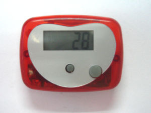 Promotion Gift Electronic Pedometer (QPM-002B) pictures & photos