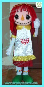 2012 Lovely Girl Cartoon Mascot (HI0109009)