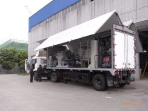 MWT 90 - Vehicle Mounted Mobile Type of Steam-Based Medical Waste Treatment Equipment