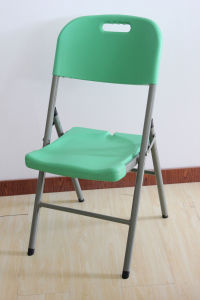 Green Plastic Folding Chair (SY-52Y) pictures & photos