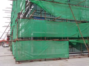 Building Construction Green Plastic Safety Plastic Net pictures & photos