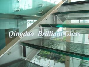 (ASNZS &ISO Certificate) 3mm+0.38PVB +3mm, 4mm+0.76PVB+4mm Laminated Safety Glass Stair