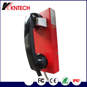 Public Telephone Tunnel Phones Knzd-14 Kntech Service Telephone pictures & photos