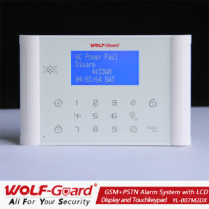 New PSTN+GSM Alarm System with LCD Display and Touchkeypad pictures & photos