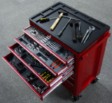Roller Tool Box With Tool Sets/Power Tools (DD701)