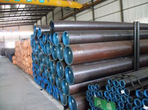 20# Black Carbon Seamless Steel Pipe pictures & photos