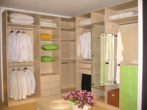Solid Wood Wardrobe Closet Cabinets